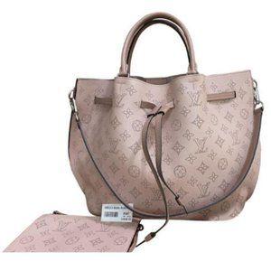 💯 Auth Louis Vuitton Girolata Mahina Magnolia Bag